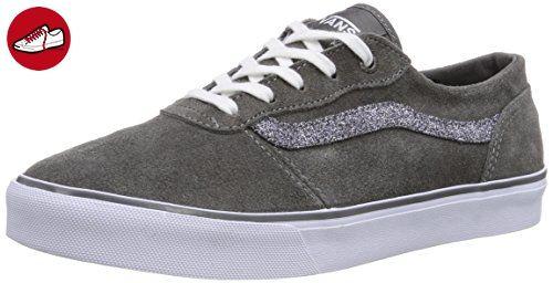 Vans Milton, Damen Skateboardschuhe, Mehrfarbig (Glitter Pewter/White), 42.5 EU (*Partner-Link)