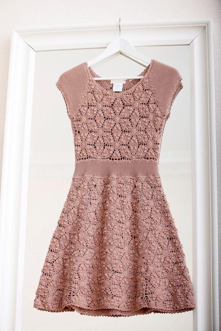 Risultati immagini per vestido croche irlandes | Vestidos ganchillo ...