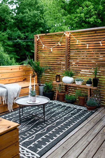 Ideas Para Decorar Tu Terraza O Jardín En Otoño Decorar Mi Casa Decoración De Patio Exterior Decoración De Patio Diseño De Patio