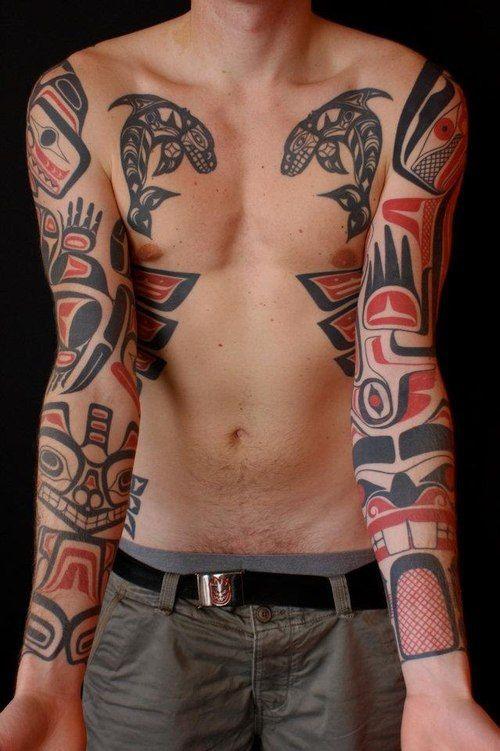 Canadian Native Tattoo Haida Tattoo Native Tattoos Tattoos