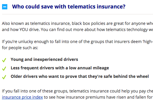 Who Is Black Box Insurance For Insurance Car Insurance