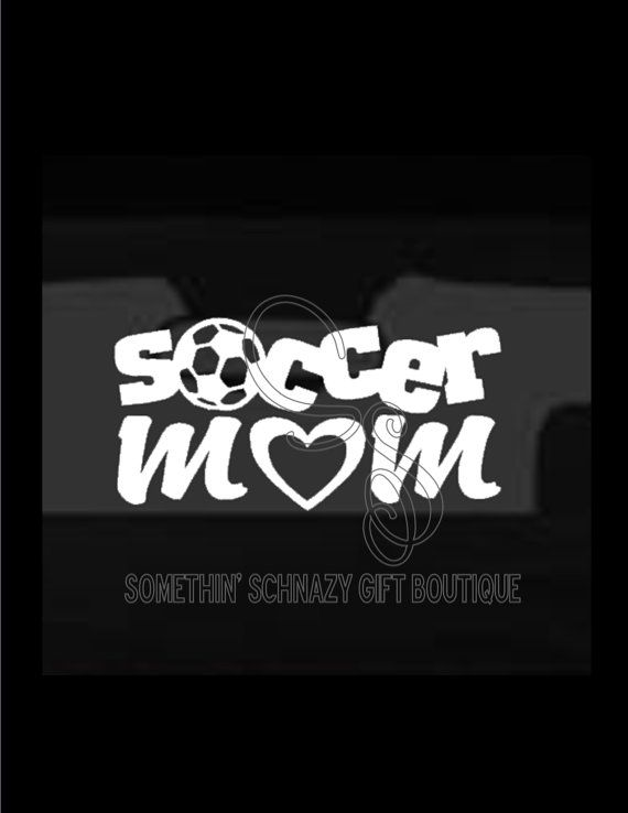 Soccer Mom Vinyl Decal Car Window Decal Laptop Tablet Soccer - Soccer custom vinyl decals for car windows