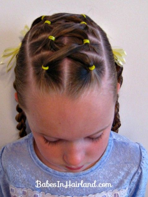Criss Cross Ponies and Twist Braids