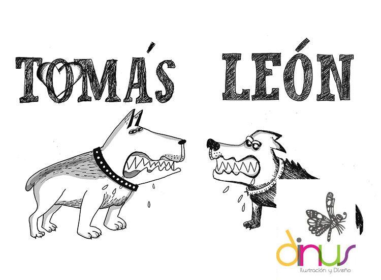 Tomas Y Leon Desenhos Animados Desenhos E Animais