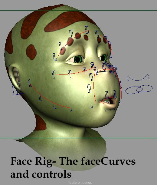 Facial Animation Rig for Delgo - Page 1 - Free Character