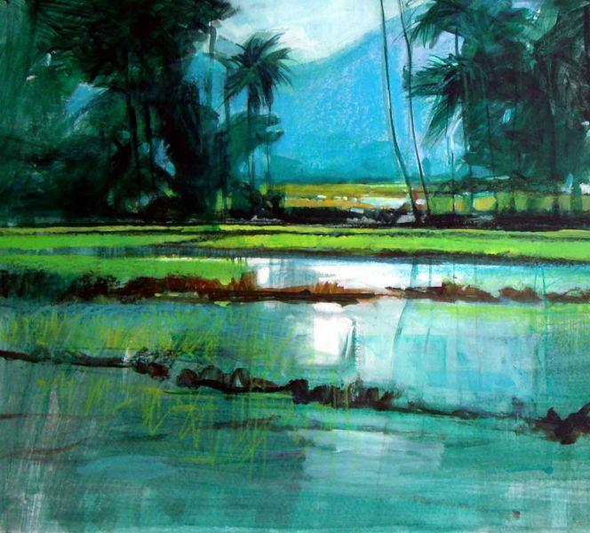 Milind Mulick Google Search Landscape Paintings Watercolor Workshop