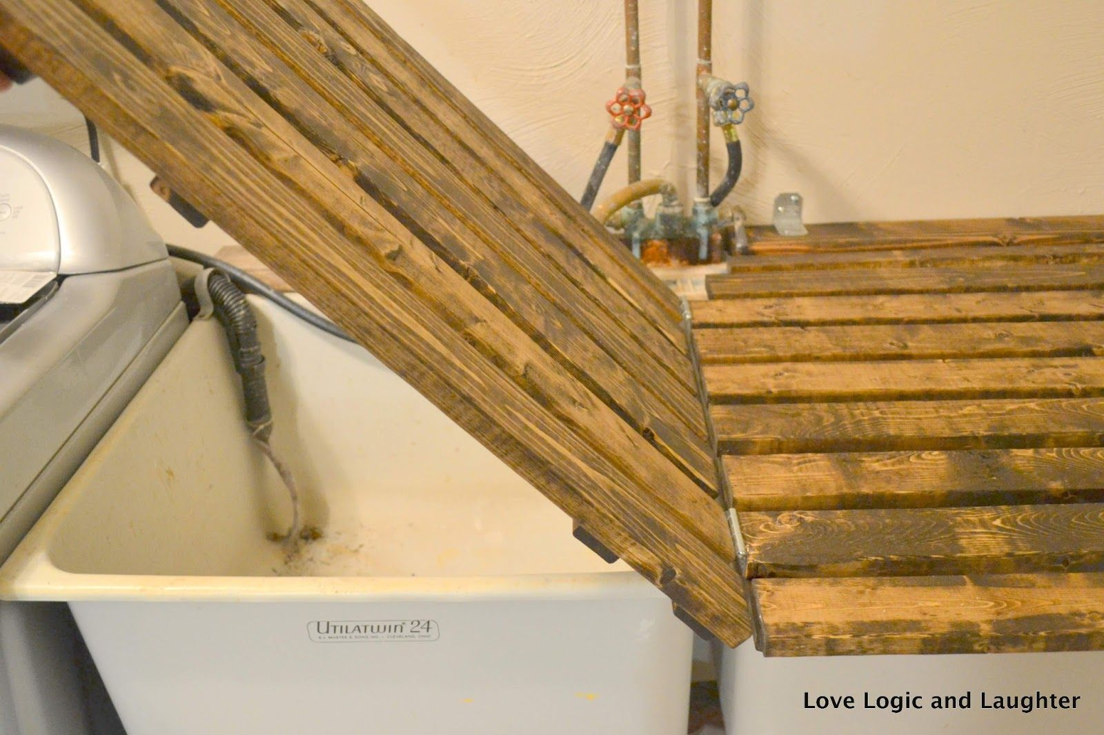 Logic And Laughter: Laundry Room Makeover   Details And Final Photos