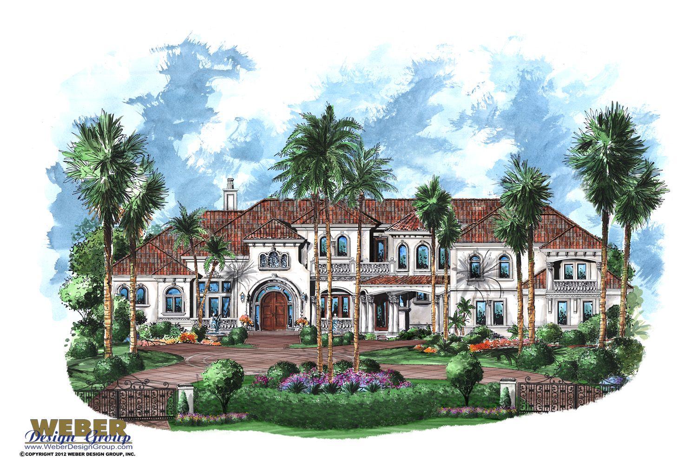 Mediterranean House Plan Tuscan Luxury 10 000 Mansion Home Plan Mansions Mediterranean House Plan House Plans