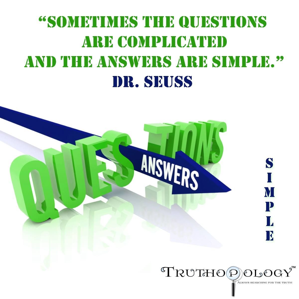Simple truths in questions and answers. Part 1 19