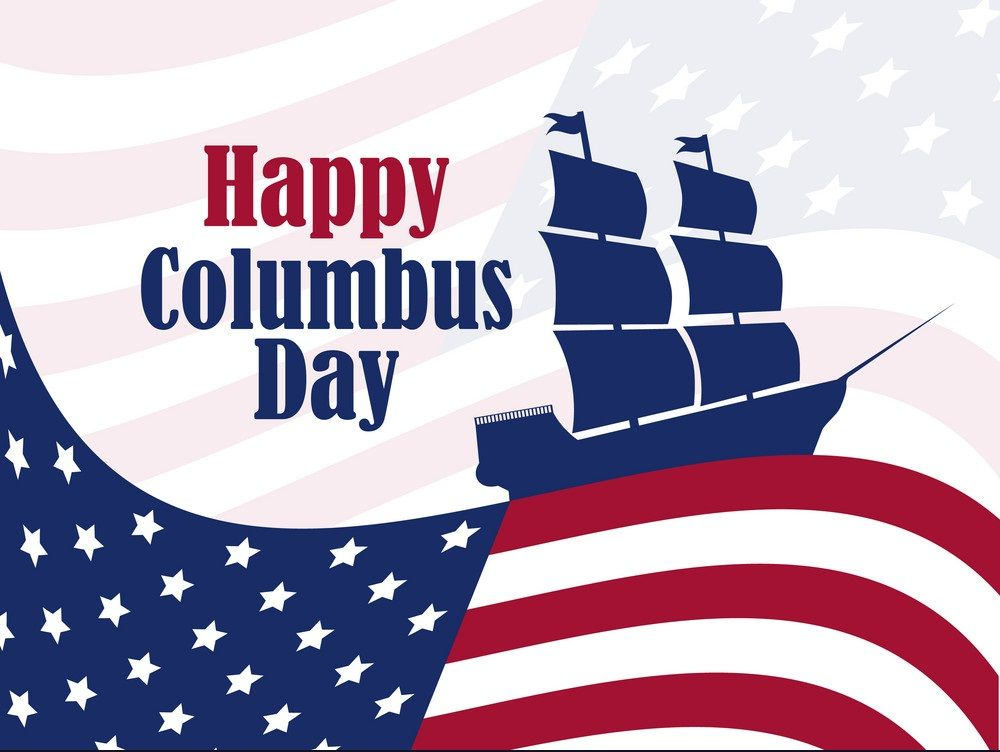 Columbus Day Usa Flag Happy Columbus Day When Is Columbus Day Columbus Day