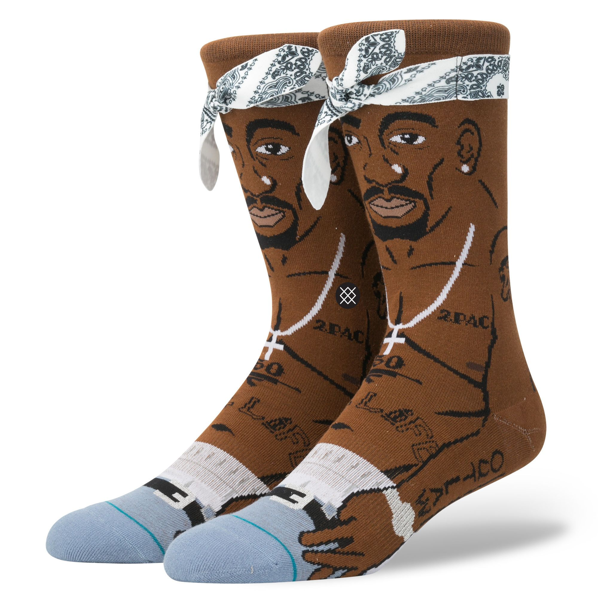 Tupac Mens Anthem Socks Stance Socks Socks Sock Shoes