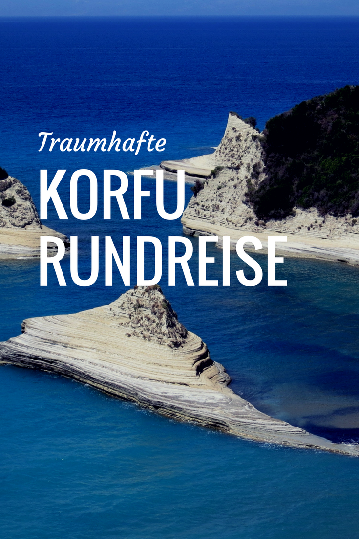 Korfu-Rundreise mit dem Mietwagen #traveltogreece