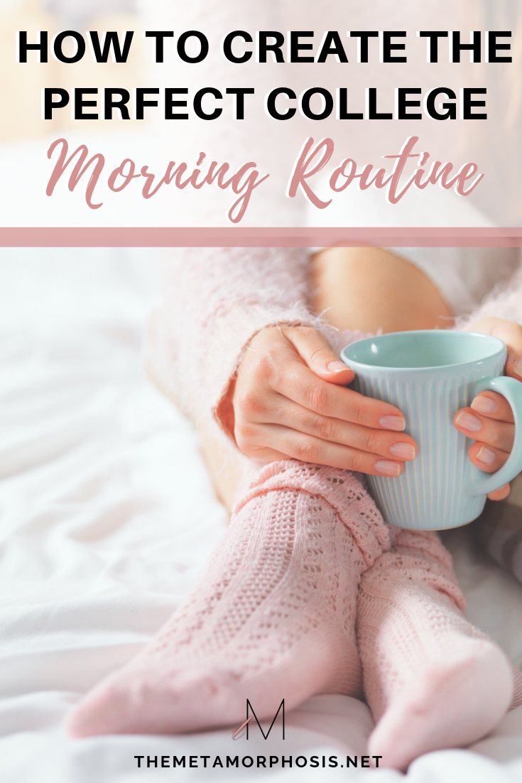 How to Create the Perfect College Morning Routine #morningroutine