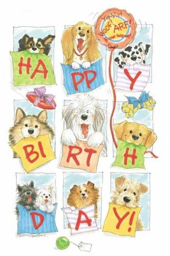 Group bday art suzys zoo pinterest happy group and dogs group bday bookmarktalkfo Gallery