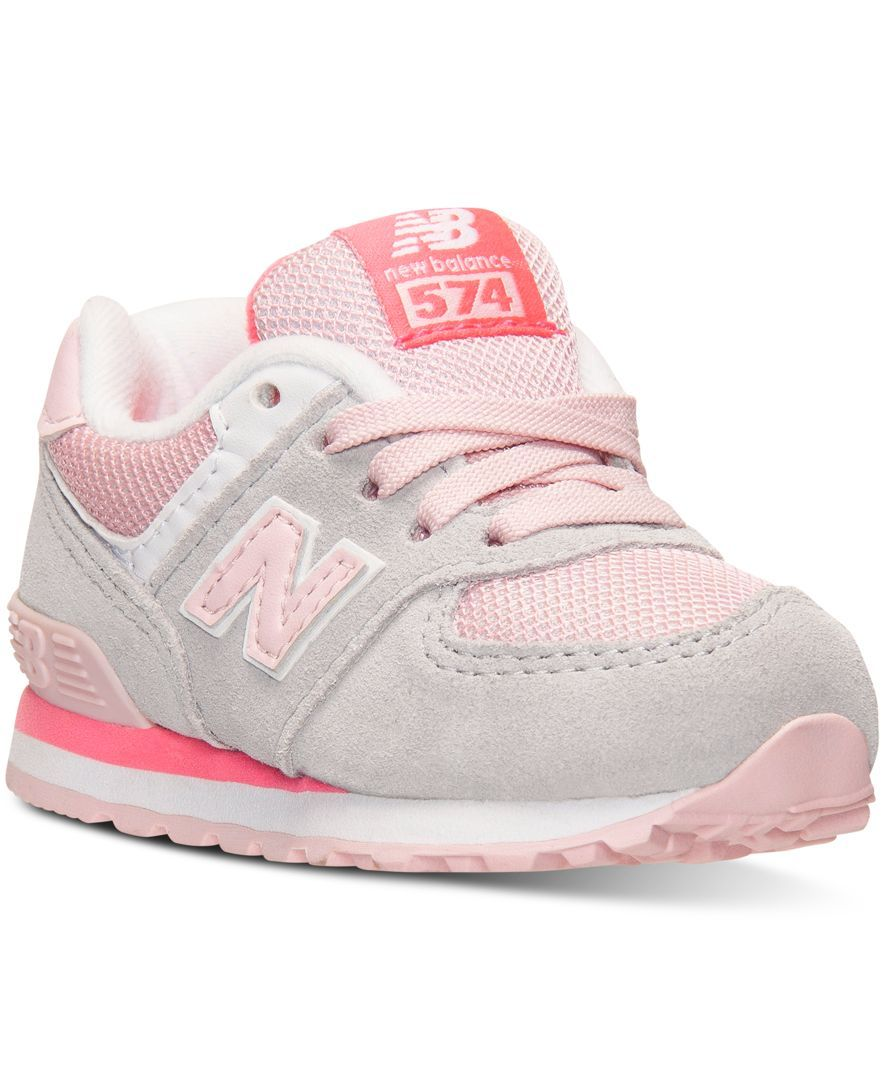 New Balance Toddler Girls' 574 Core Plus Casual Sneakers from Finish ...