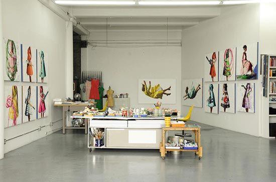 kelly reemtsen downtown artist loft downtown los angeles studio