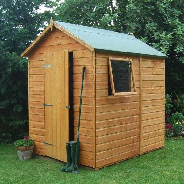 kleines gartenhaus f r rasenm her my blog. Black Bedroom Furniture Sets. Home Design Ideas