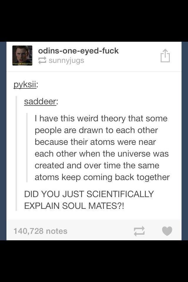 Scientific examination for soulmates