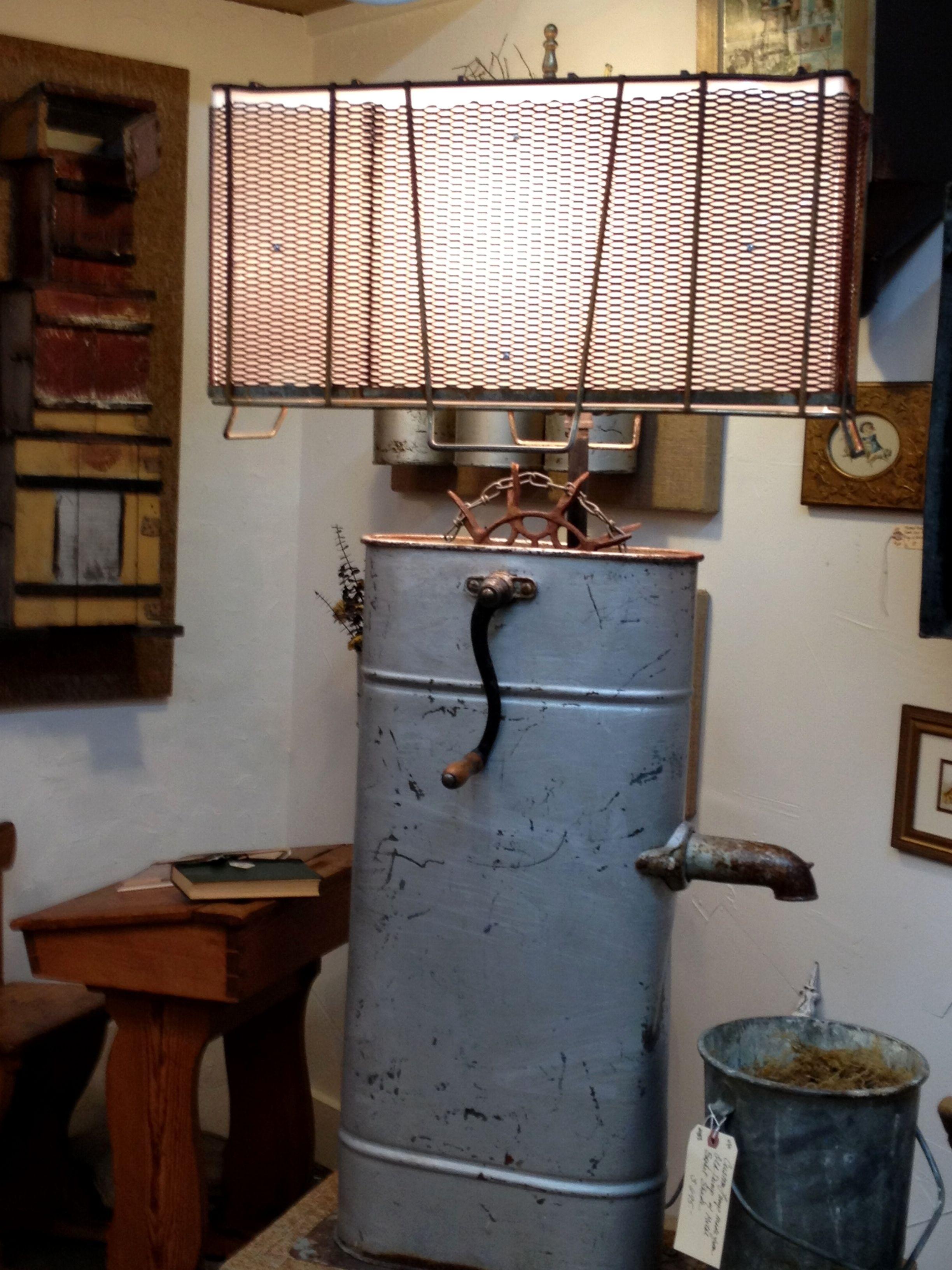 Repurposed Lamp Beam Me Up Scotty Cool Lamps Lamp