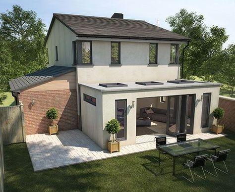 La Véranda Illumine Les Intérieurs !   Floriane Lemarié. Roof  ExtensionExtension IdeasKitchen Extension Flat ...