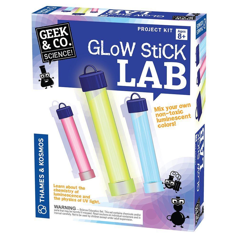 Glow Stick Lab Make awesome glow sticks that shine in cool