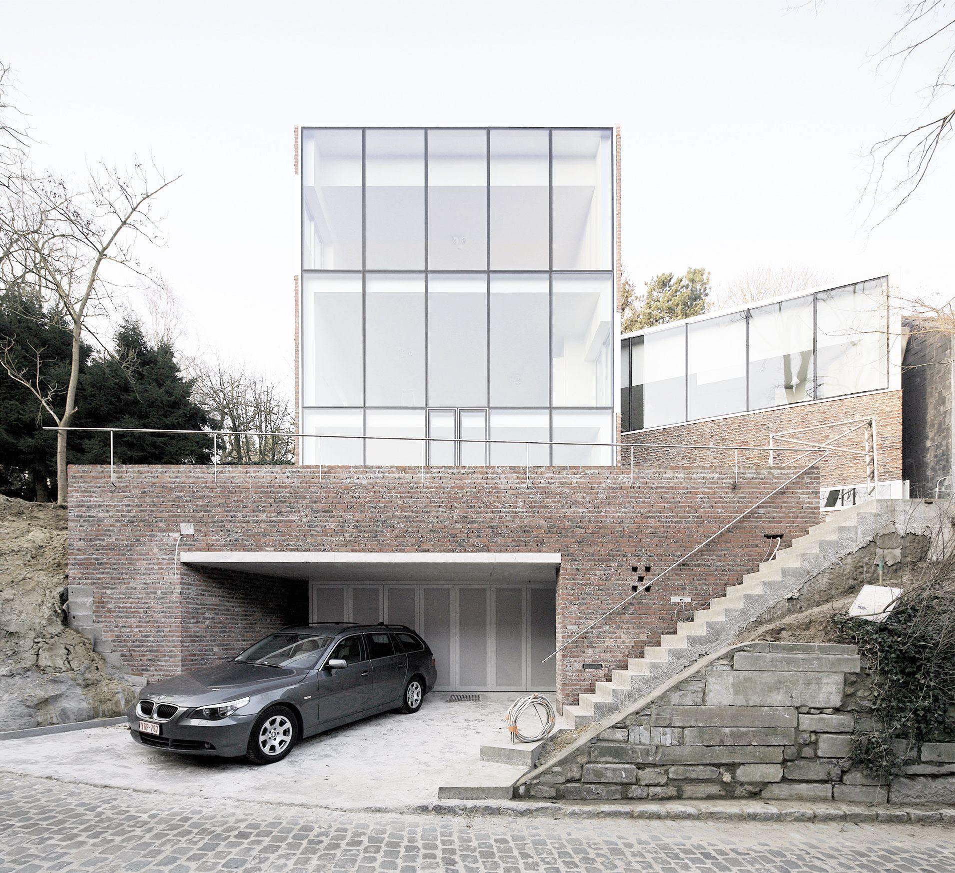 Maison Stine-Gybels / Atelier d\'architecture Pierre   Architecture ...