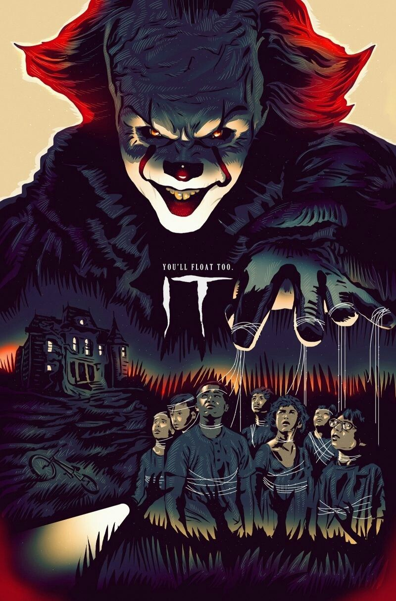 'IT' Movie Poster #filmposters