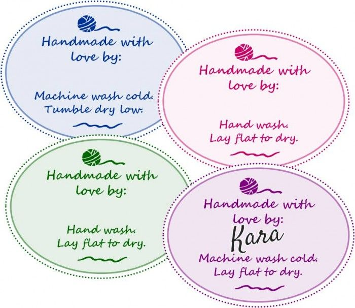 Free printable gift tags for your handmade gifts crochet free free printable gift tags for your handmade gifts negle Choice Image