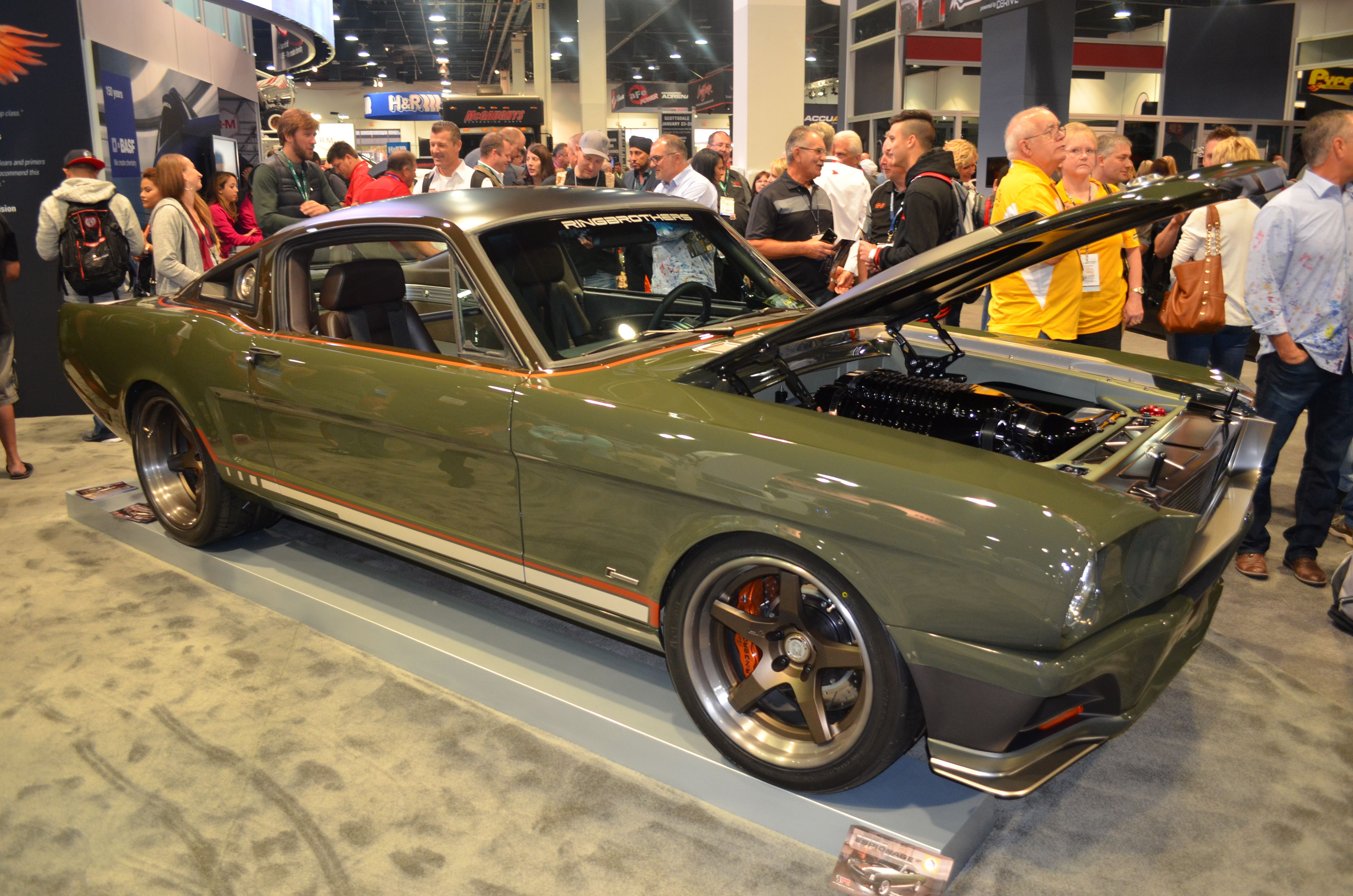 Ringbrothers Unveils Latest Creation All Carbon Fiber 1965 Mustang Fastback Mustang Fastback 1965 Mustang Mustang