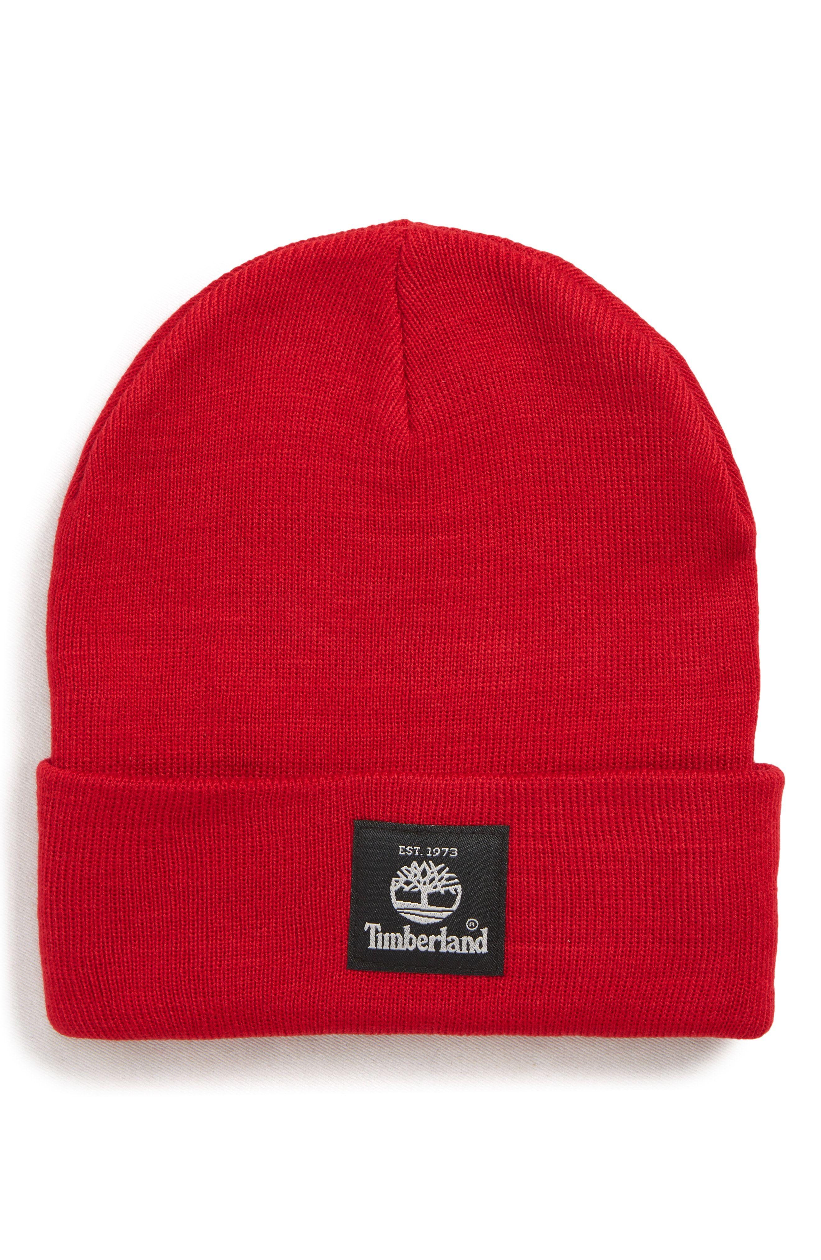 2aa5f60e TIMBERLAND WATCH CAP - RED. #timberland | Timberland | Timberland ...
