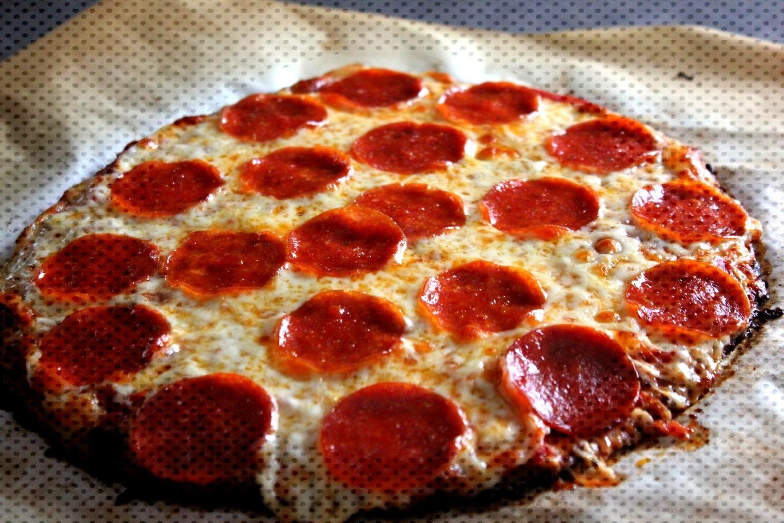 Punkie Pies Place Cauliflower Pizza Crust Pepperoni Pizza Punkie Pies Place Cauliflower Pizza C