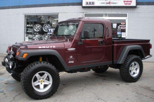 2002 Jeep Wrangler Sport Custom Brute Conversion For Sale 2002 Jeep Wrangler Red Jeep Wrangler Jeep Wrangler