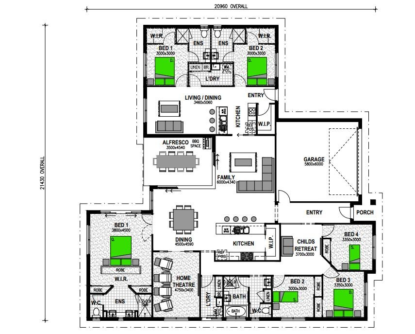 Attached granny flats in law suite plans house plans - Home design with attached granny flat ...