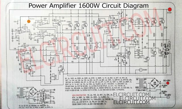 Layout Power Amplifier Yiroshi - PCB Circuits