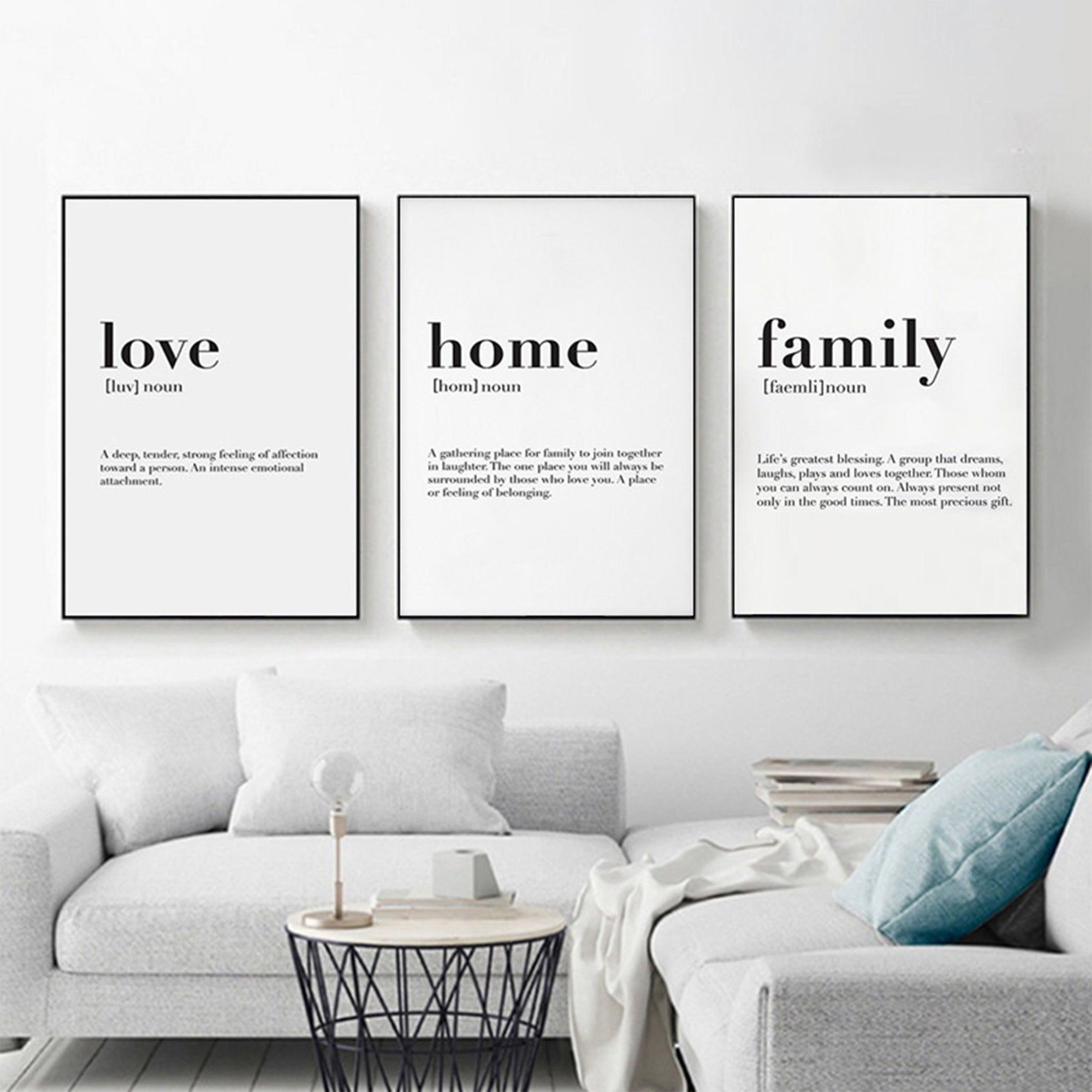 Nordic Abstract Wall Art Printable Painting Love Home Family Quote Poster Printable Modern Wall Art Wall Art Quotes Family Family Wall Quotes Family Wall Decor