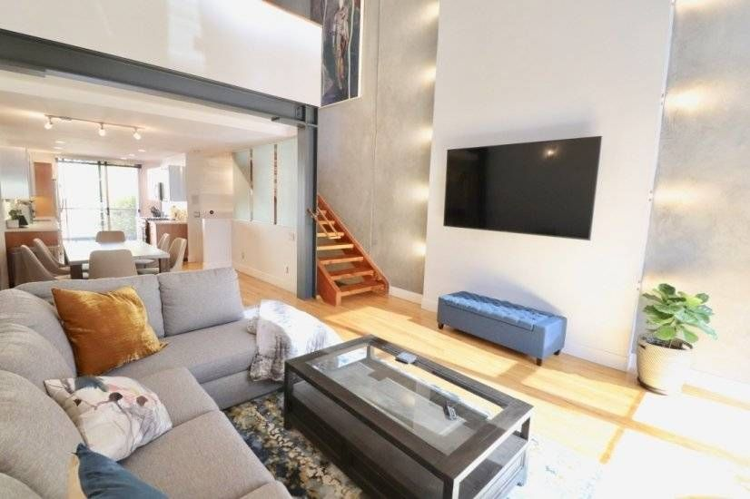 Modern Industrial Townhome Available For Rent In San Diego California Corporate Housing Furnished Apartment Corporate Rentals