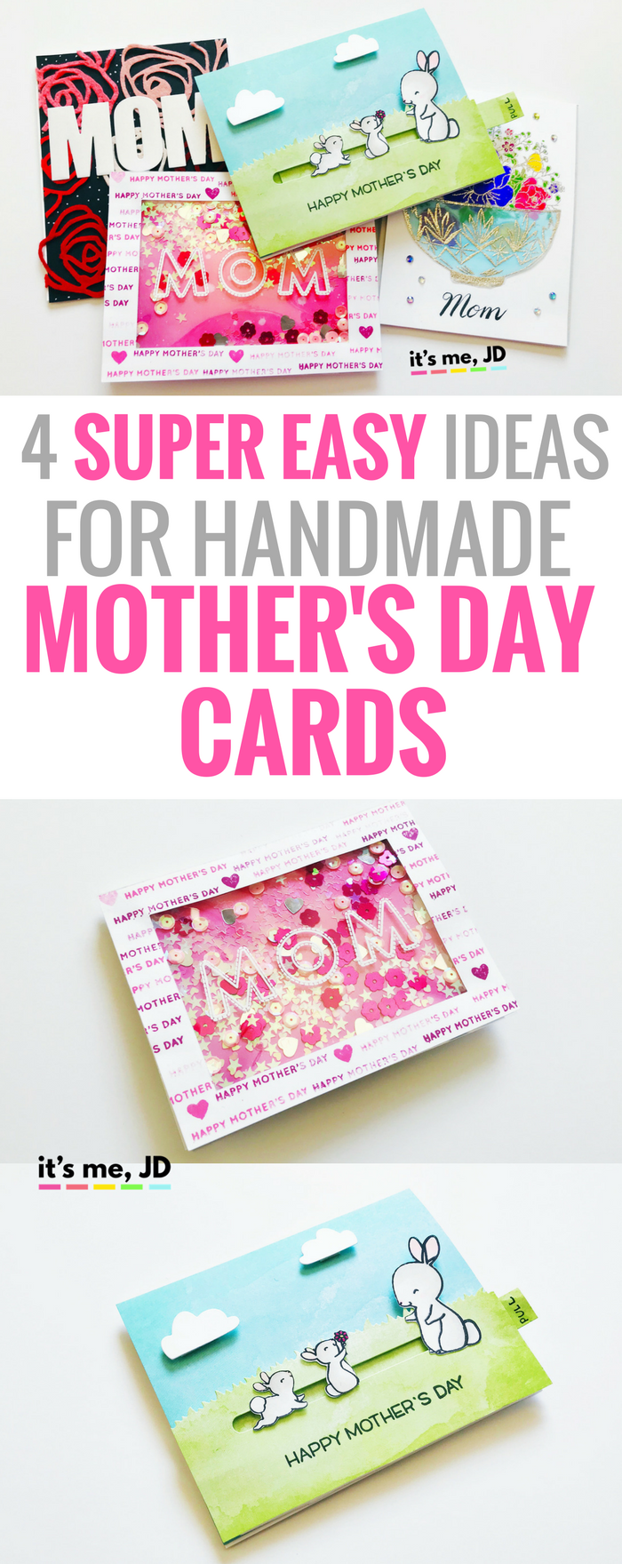 easy ideas for handmade motherus day cards diy cards cards and