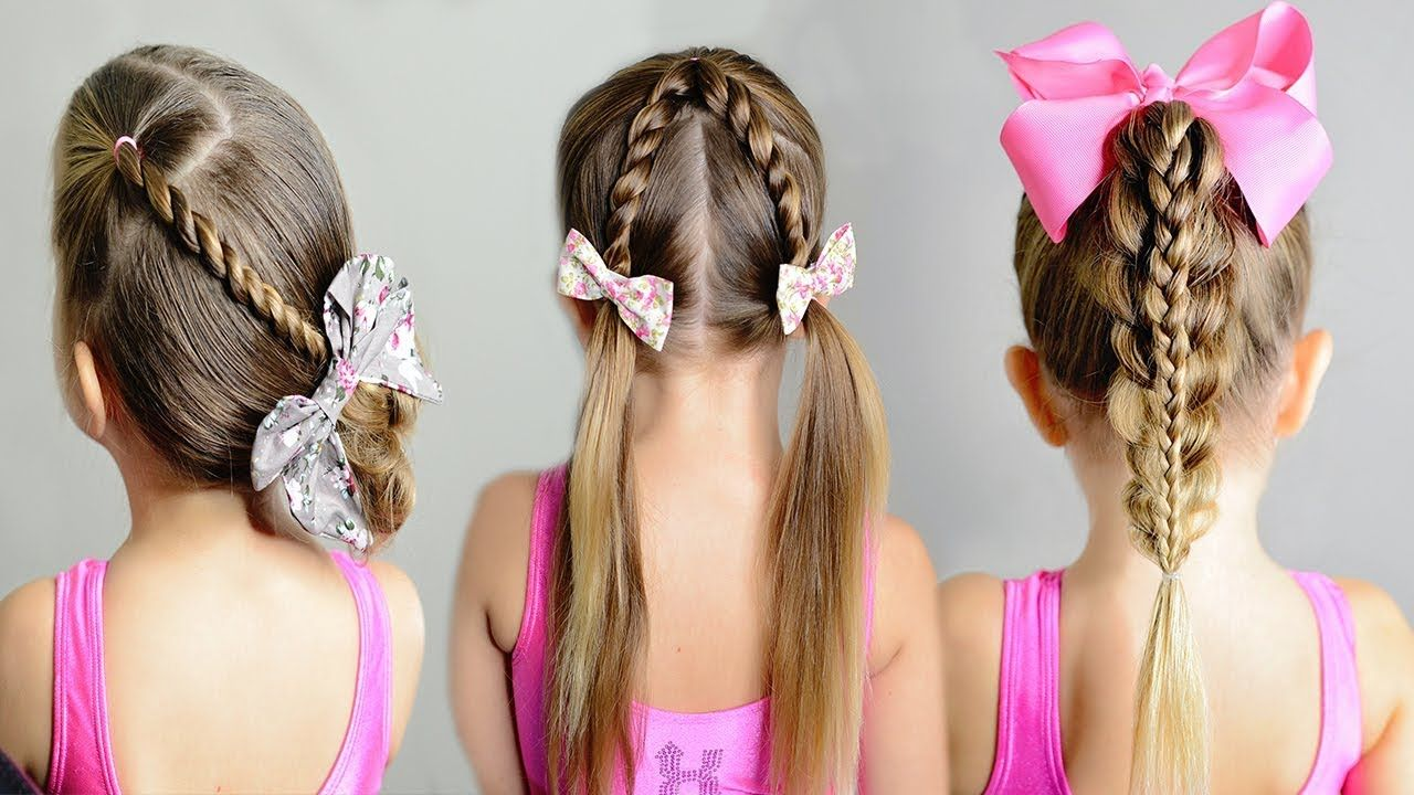 minute girlus hairstyle easy toddler hair ideas