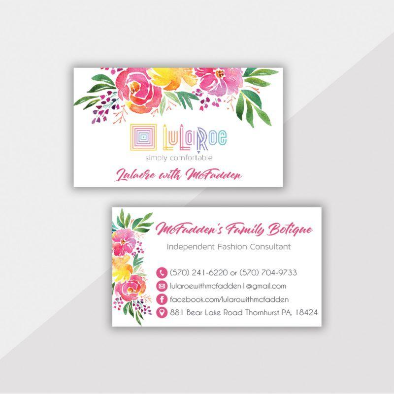 Personalized Lularoe Business Cards Lularoe Template Design Llr29 Lularoe Business Cards Lularoe Business Template Design