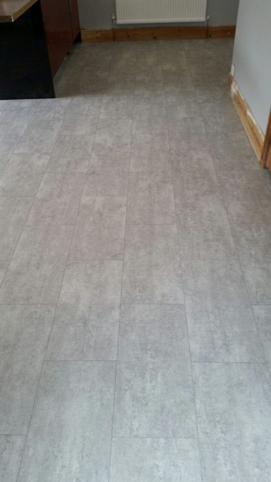 Cavalio Luxury Vinyl Tile Grey Stone Effect With Grout Line Luxury Vinyl Flooring Vinyl Tile Kitchen Flooring