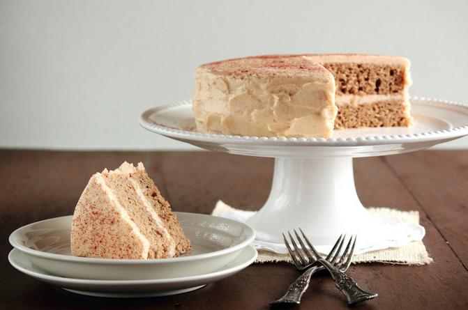 Cinnamon Sugar Cake with Sugar Cinnamon Buttercream