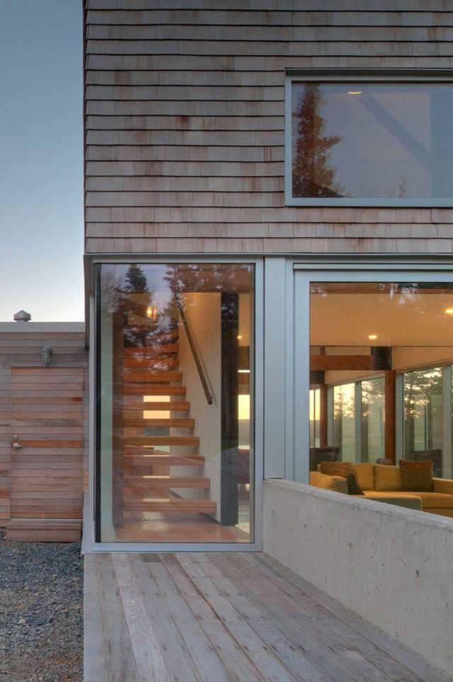 A Gabled Courtyard House in Nova Scotia