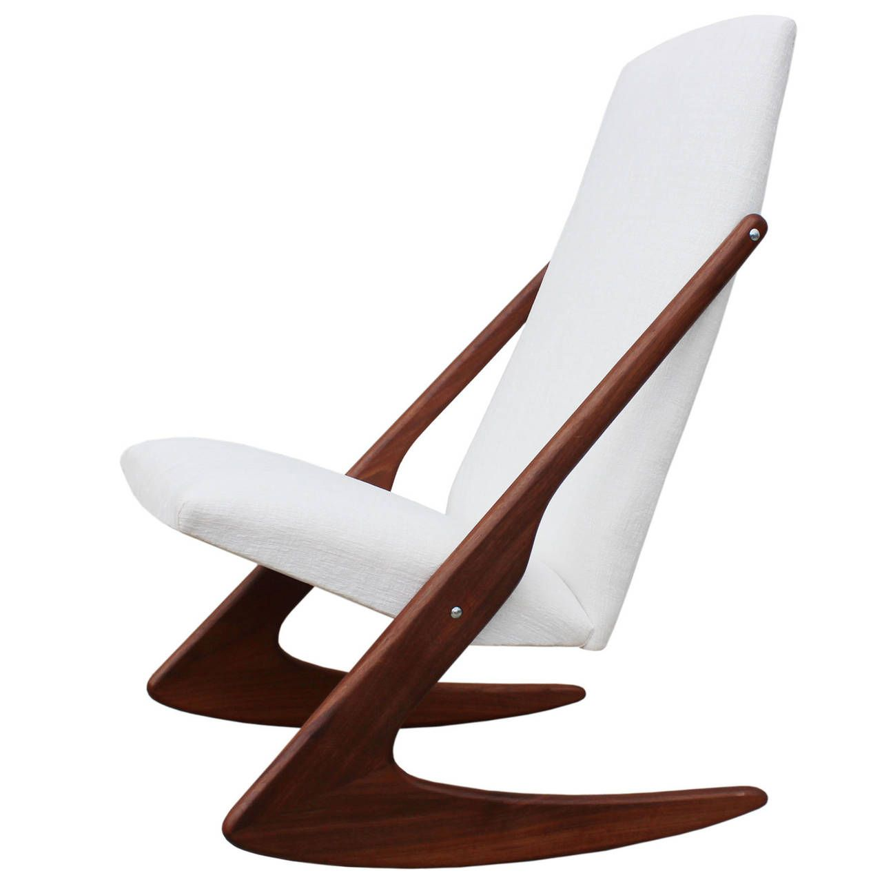 Mogens Kold Boomerang Rocking Chair Pictures