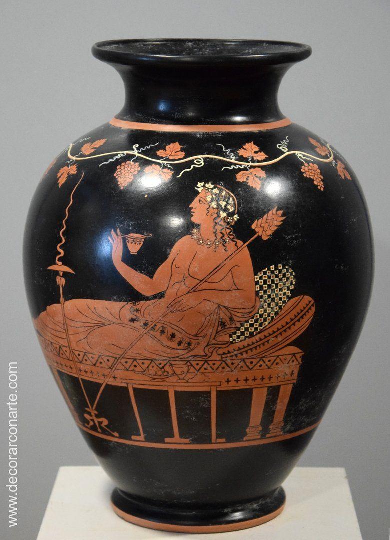 Jarron Ceramica Griega Altura 39cm Ceramica Griega Arte Griego Antiguo Arte Antiguo