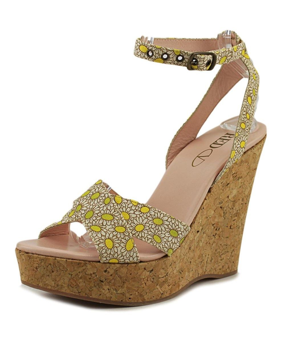 RED VALENTINO Red Valentino Scarpe Women  Open Toe Synthetic Multi Color Wedge Sandal'. #redvalentino #shoes #pumps & high heels