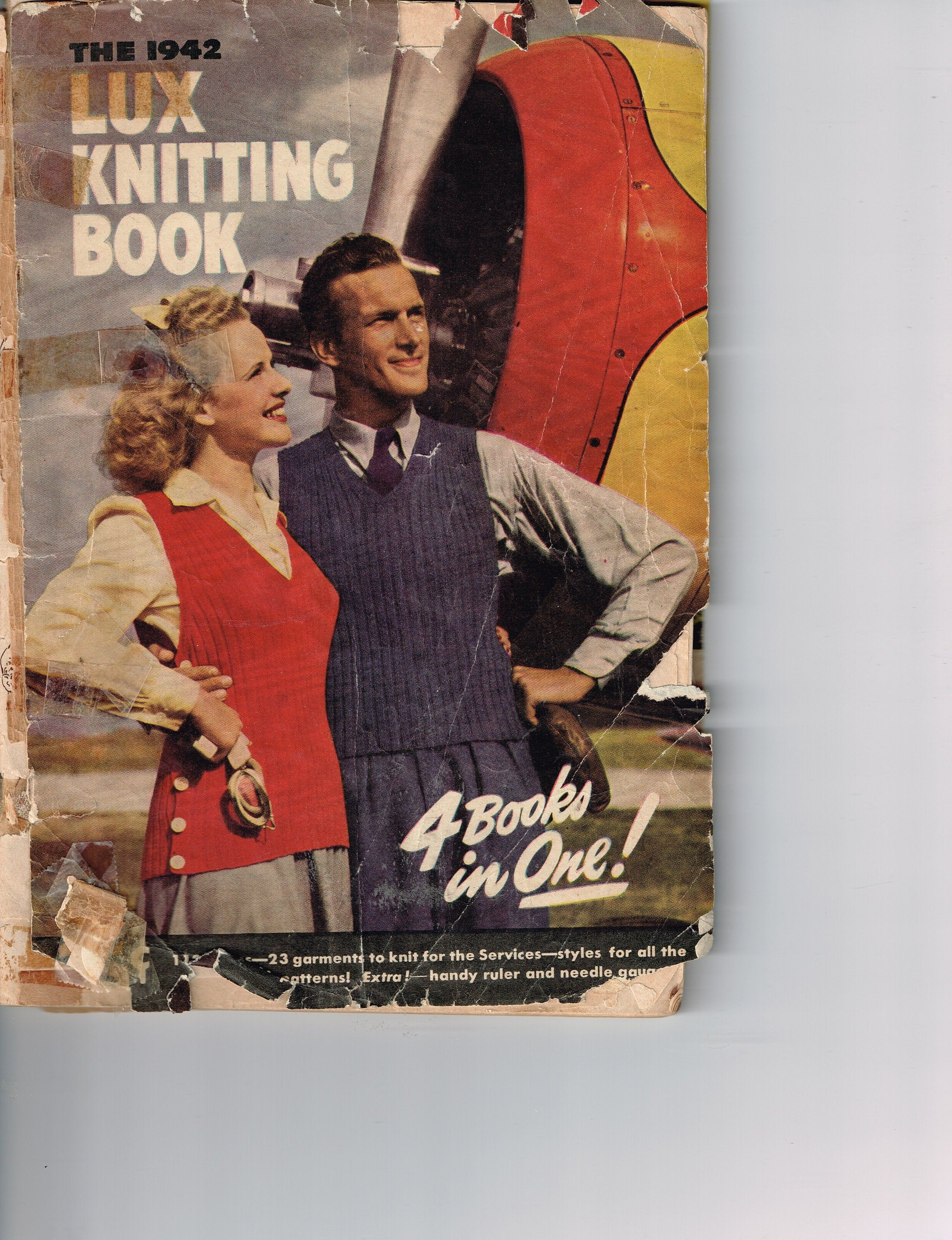 1942 Sweaters for Men Hand Knits by Beehive
