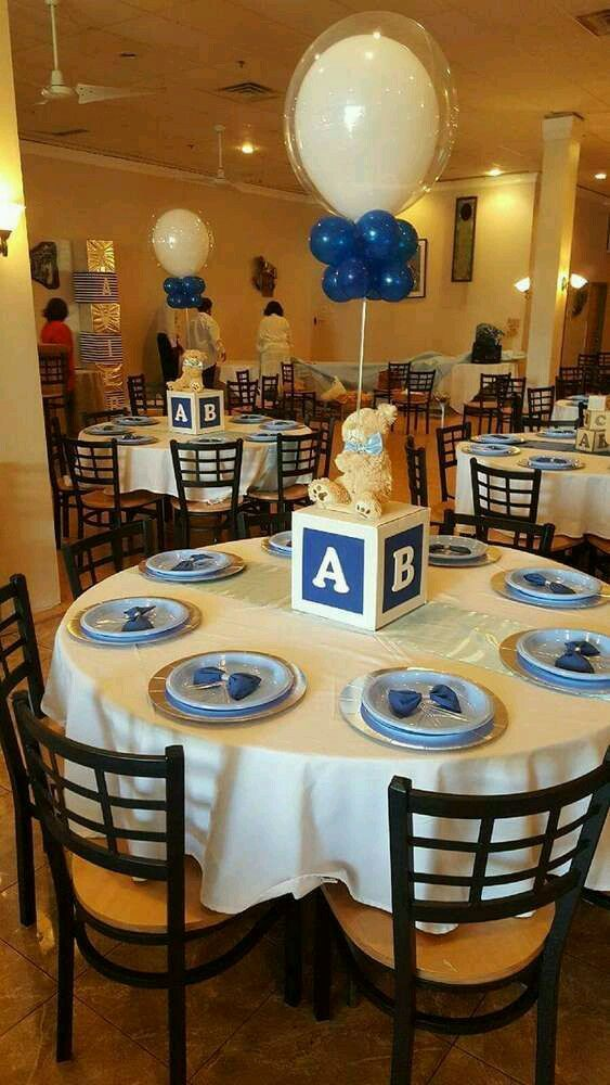 Pin By Afua Thompson On Baby Shower Baby Shower Centerpieces