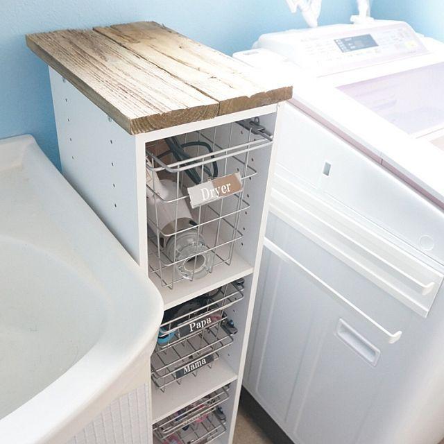 どんな広さの洗面所にも ニトリ 無印良品使えるアイテム