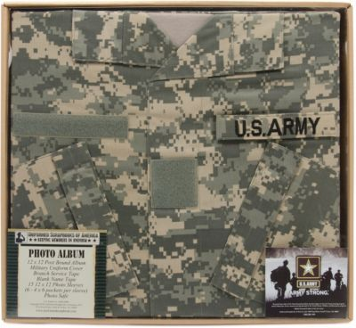 Uniformed Scrapbooks Us Army Photo Album 12 X 12 Lovin
