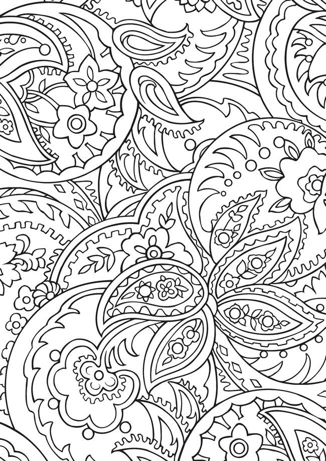 BLISS Paisley Coloring Book: YOUR PASSPORT TO CALM by: Marty Noble ...